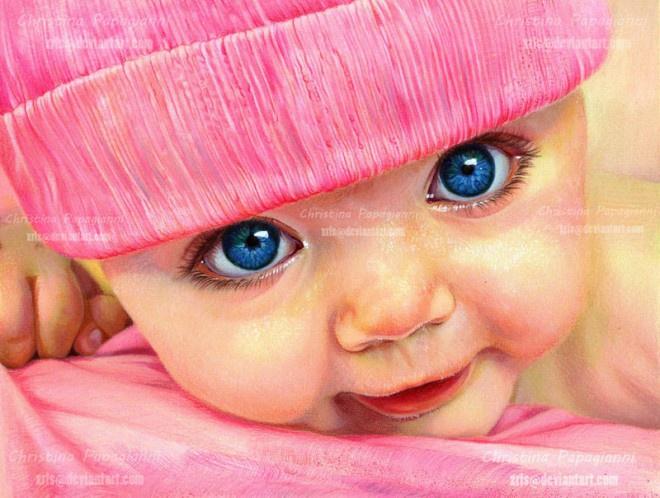Ребенок в розовой шапочке. Будущий фрилансер