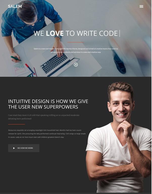 Шаблон для дизайнеров и фрилансеров