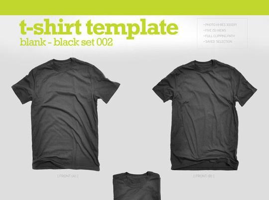 Черные футболки