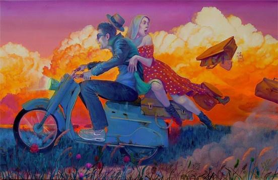 Уличное искусство Наталии Рак