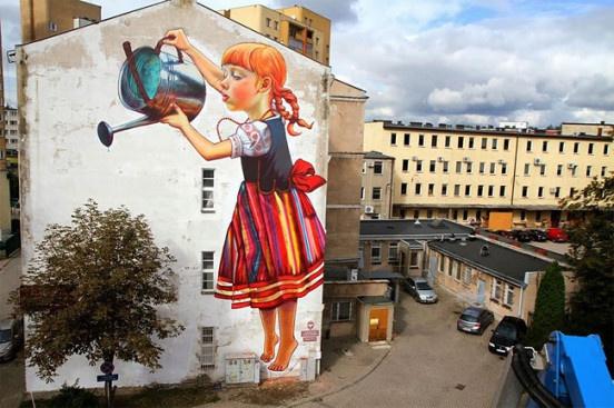 Польская художница Наталия рак