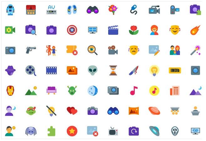 Коллекция бесплатных иконок