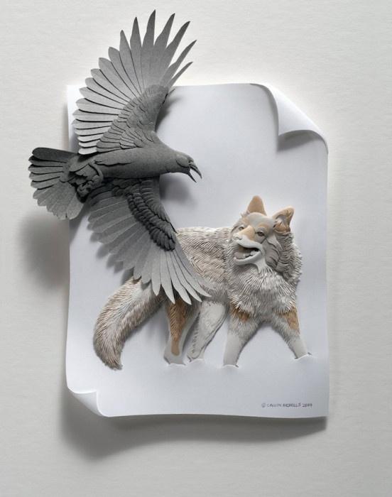 Скульптуры Кэлвина Николса