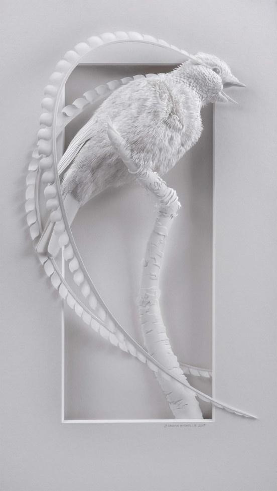 Бумажные скульптуры К. Николса