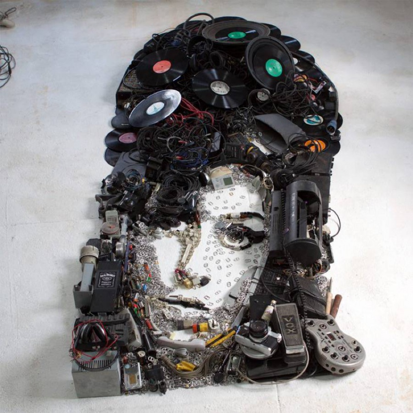 Инсталляции Кристиана Пьерини