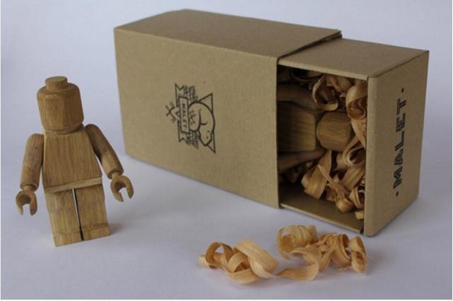 Упаковка для деревянной игрушки