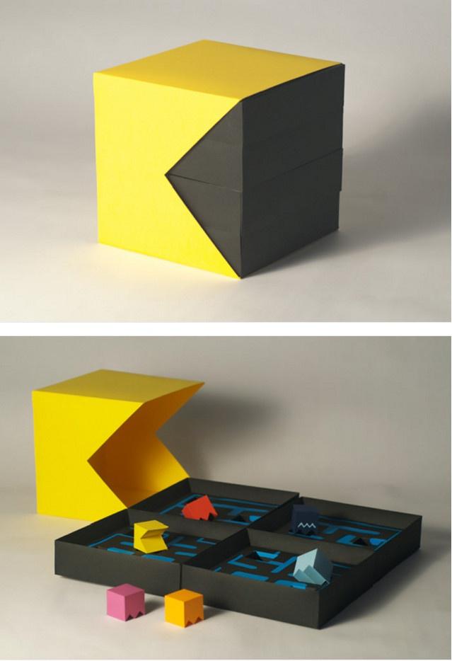 Упаковка с нестандартным дизайном