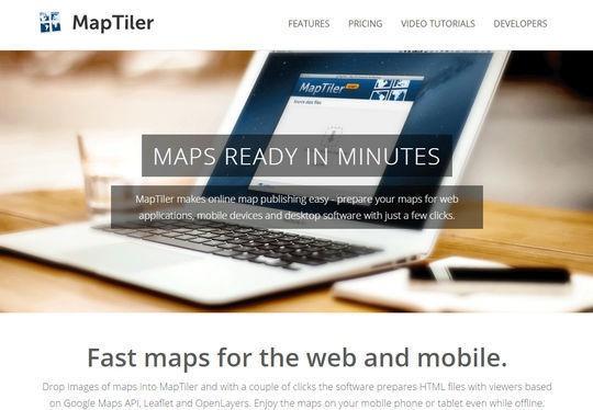 Инструменты для создания карт