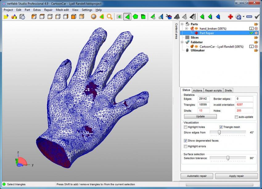 Конструктор 3d моделей работа веб камера модели список