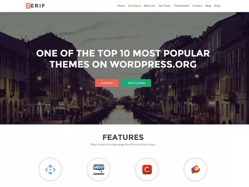 10 самых популярных бесплатных WordPress-тем
