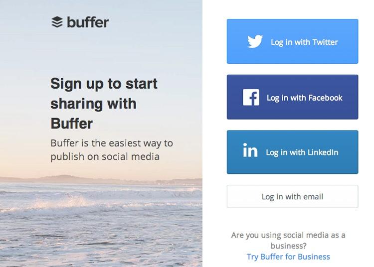 Приложение Buffer