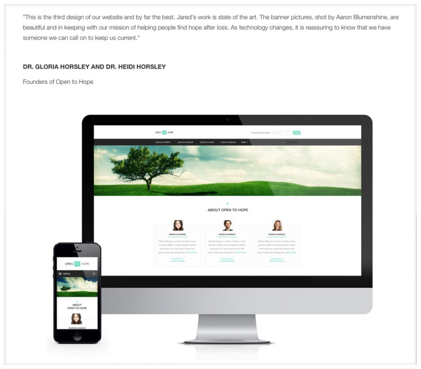 Сайт-портфолио для фрилансера