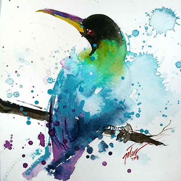 Иллюстрации Тайлена Ти