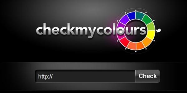 CheckMyColors – это бесплатный онлайн-сервис для анализа цветового оформления сайта.