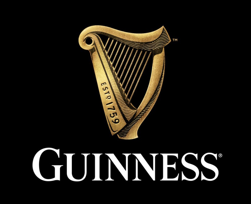 В логотипе Guinness органично сочетается старое и новое и выглядит это очень впечатляюще.