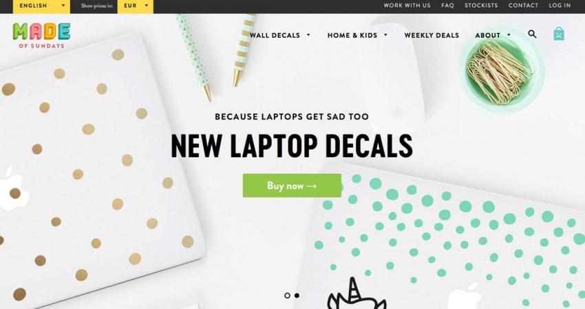 Акварельные эффекты в веб-дизайне