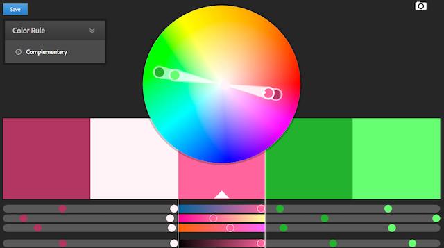 веб-приложение Color