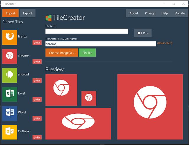 Программа TileCreator