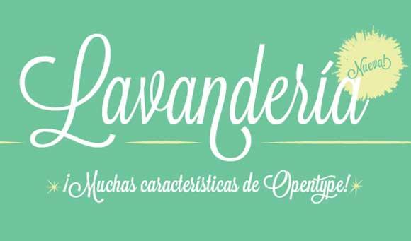 рукописный шрифт Lavanderia