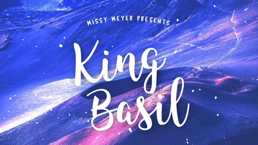 Рукописный шрифт King Basil