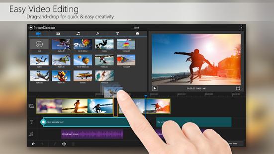 Приложение для монтажа и редактирования видео