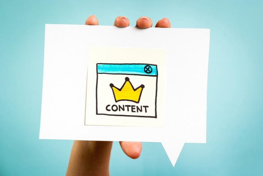 Акцент на контенте