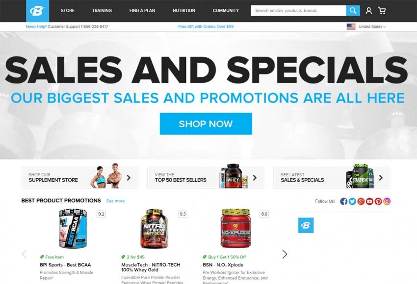 сайт BodyBuilding.com
