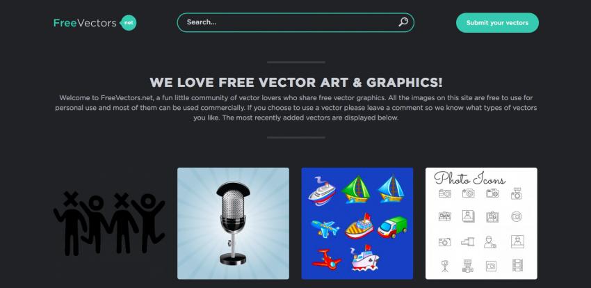 10 сайтов с бесплатной векторной графикой