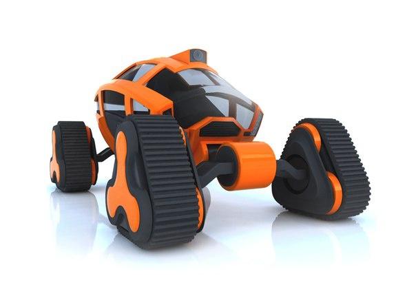 Пример промышленного дизайна от фрилансера