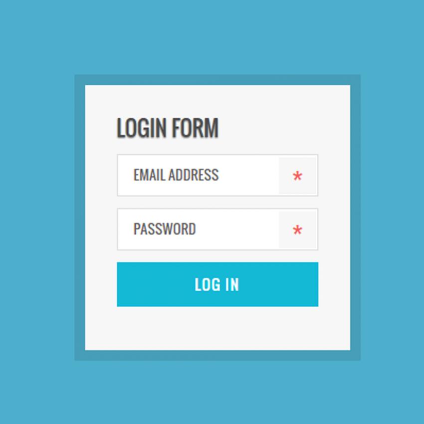 simple flat widgets ui kit free psd psd