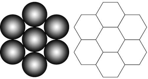 Шестиугольник в логотипе