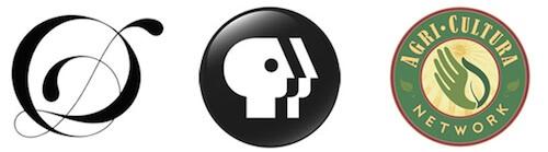 Примеры круглых логотипов фриланс