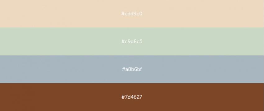 Цветовые палитры дизайн