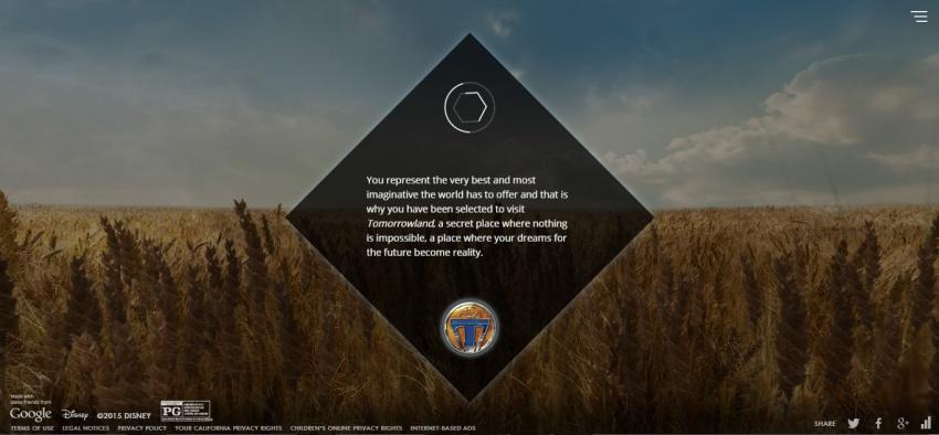 Необычный дизайн сайта
