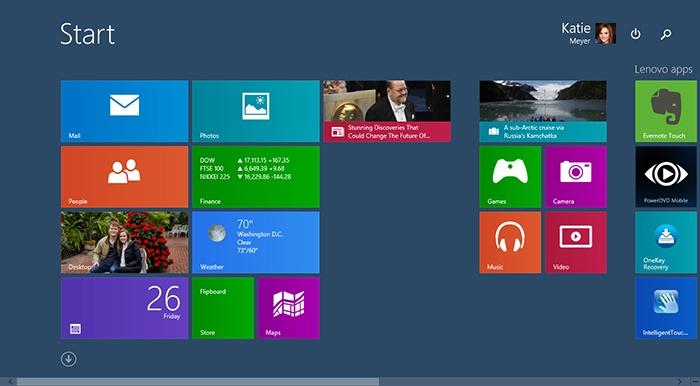 Дизайн Windows 8