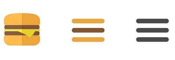 Что такое иконка-гамбургер