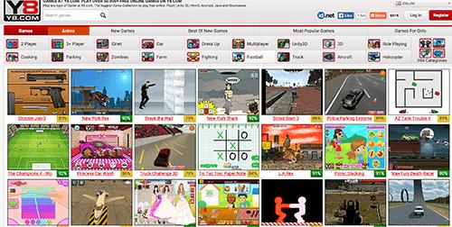Игровой сайт для детей