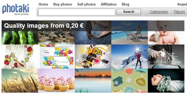 Главная страница Photaki.com