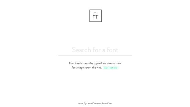 Сервис для определения шрифтов