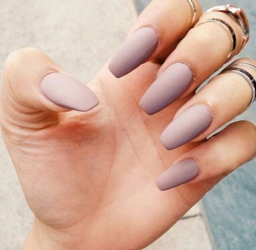 Ногти балерина форма