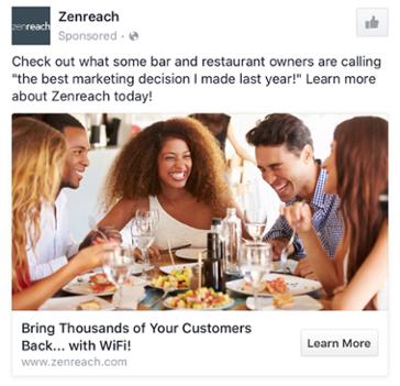 13 вдохновляющих примеров B2B и B2C рекламных объявлений на Facebook