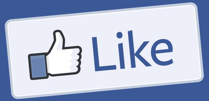 Facebook меняет систему подсчета лайков