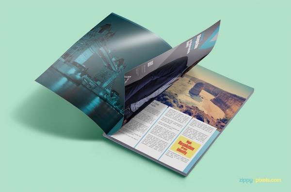 10 бесплатных макетов журналов для демонстрации ваших работ