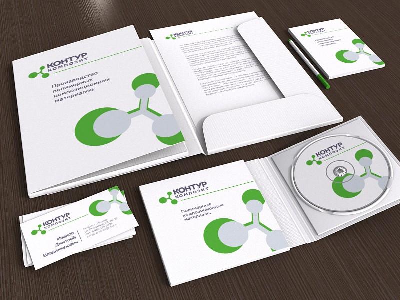 Создание фирменного стиля и логотипа для дочерней компании