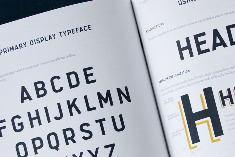 Использование типографики в дизайне интерфейса