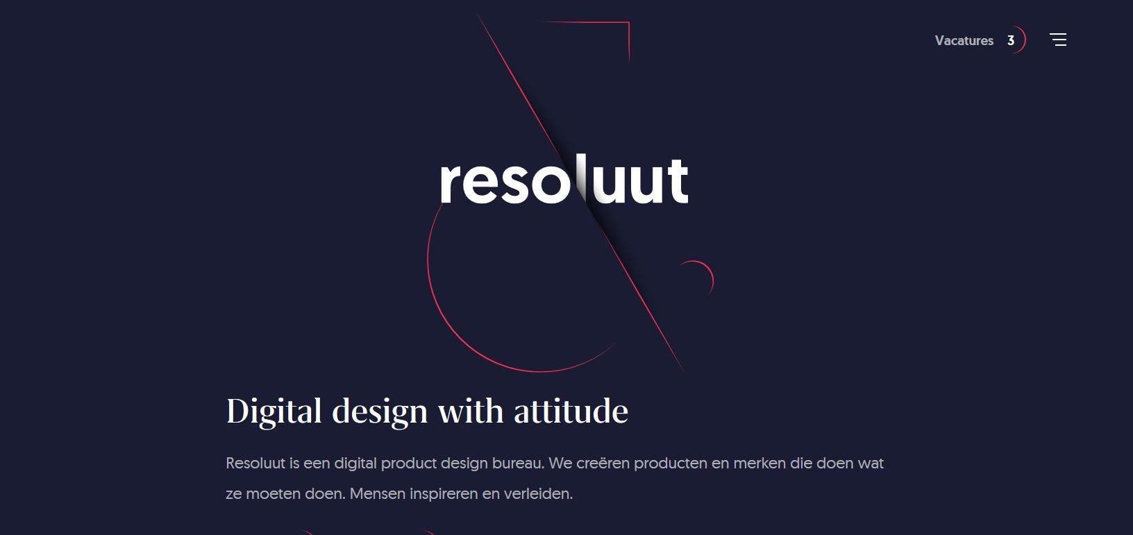 Новая тенденция в веб-дизайне: нарезанный текст