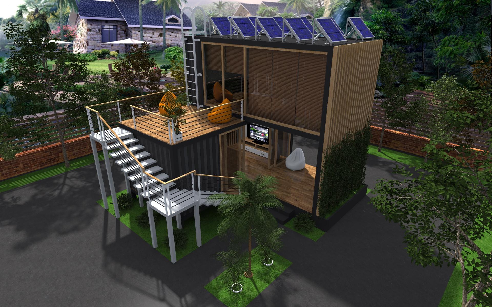 Тимур Нигматов: Частные дома из контейнеров