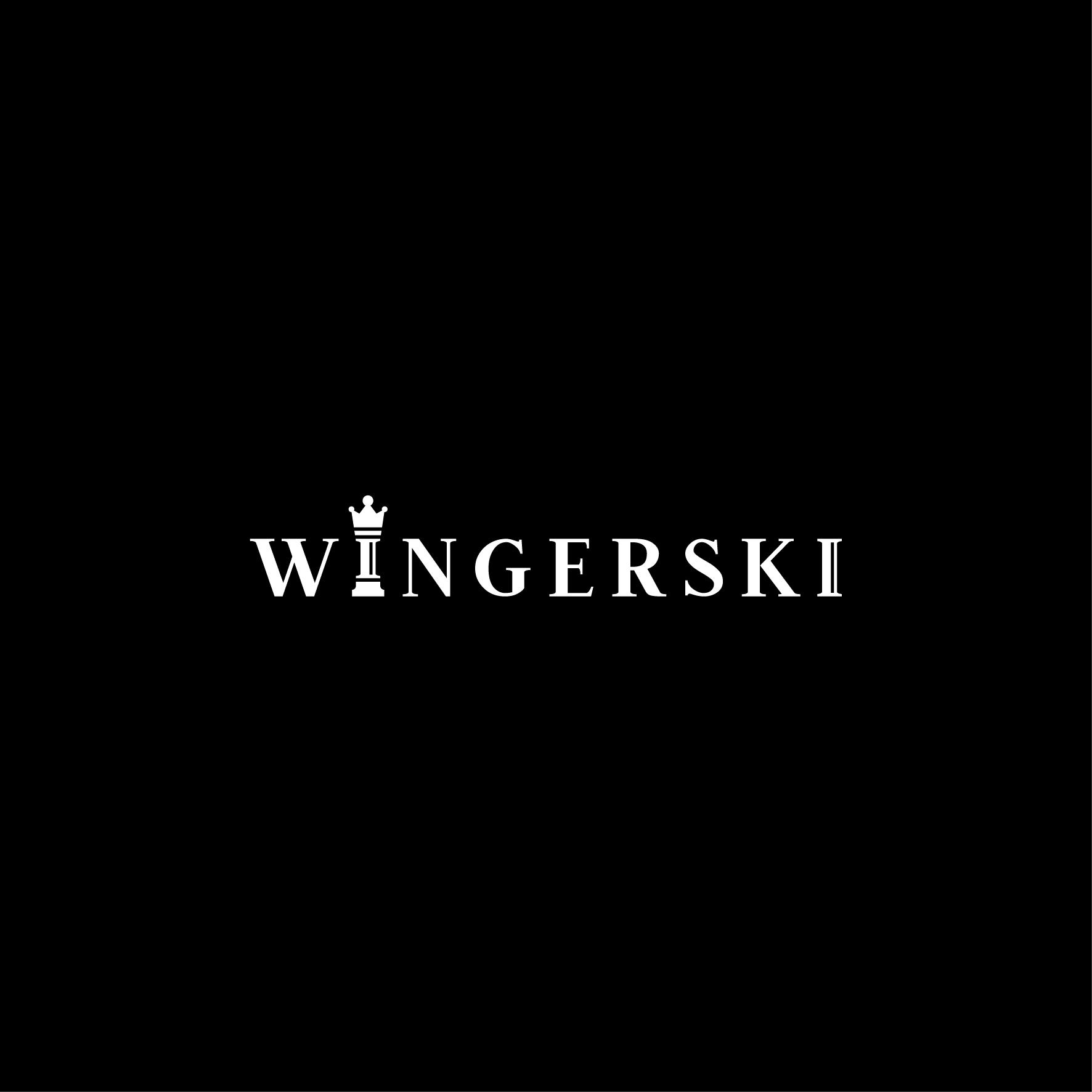 """Владимир Мехов: Логотип для ювелирного бутика """"W I N G E R S K I"""""""
