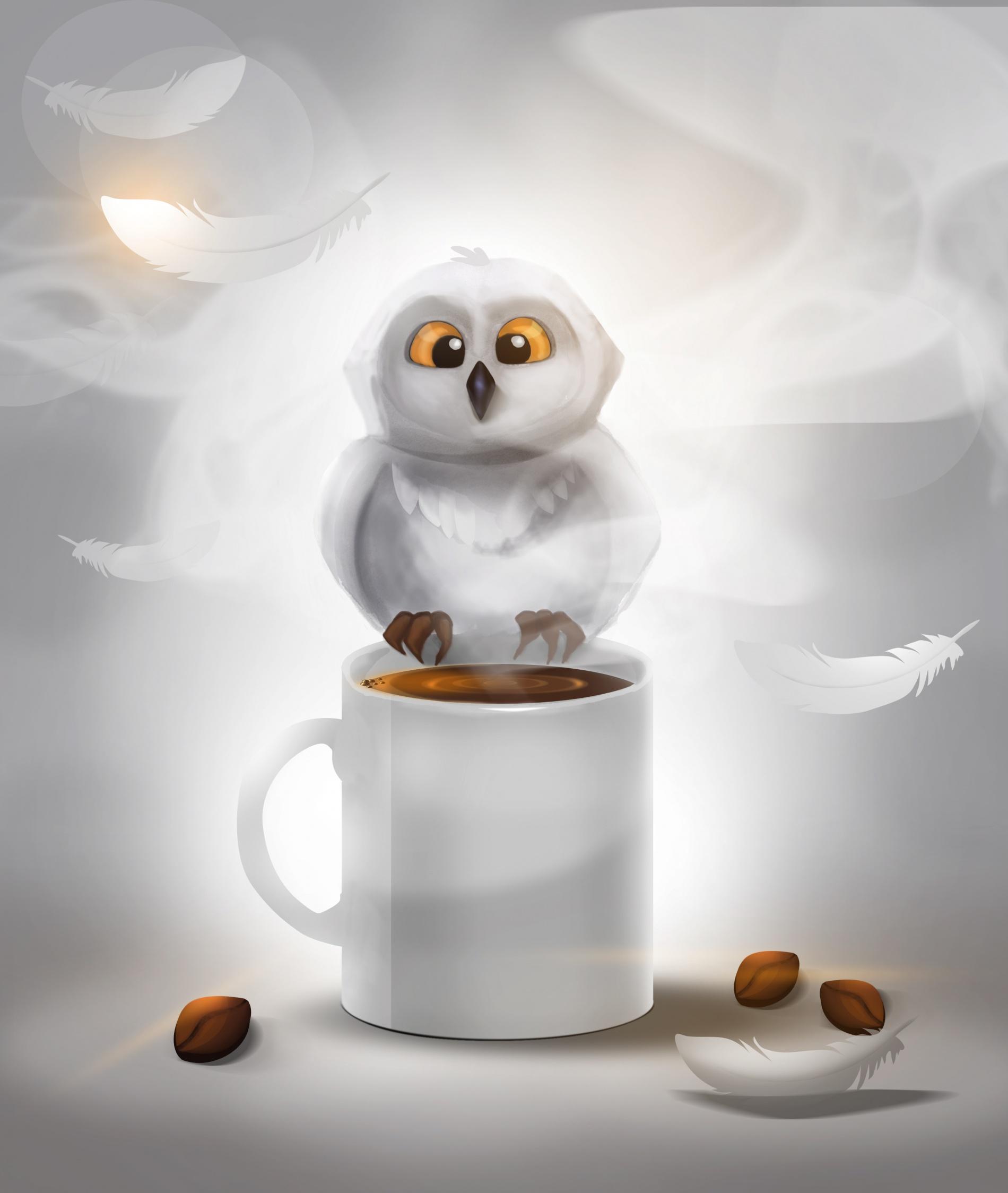Irina Lakeeva: Сова кофеман