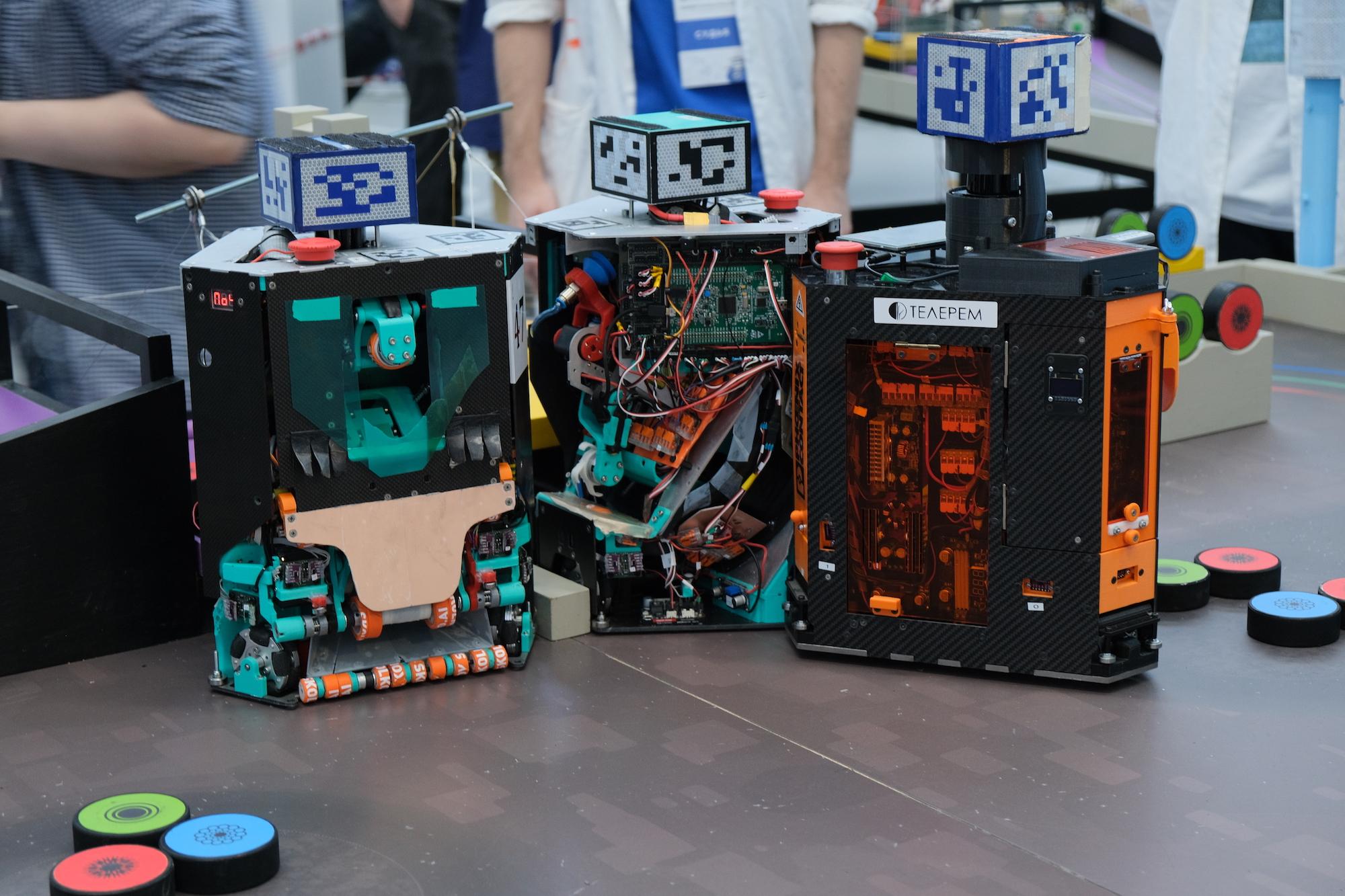 EUROBOT — открытый чемпионат мобильных роботов